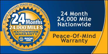 NAPA Warranty